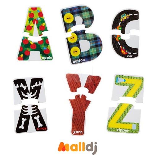 幼儿字母手工教具