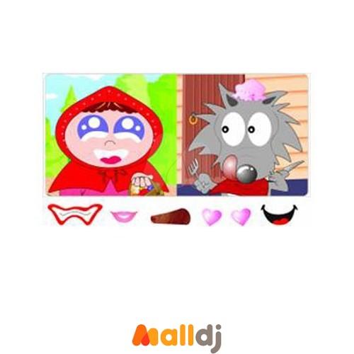 这本书教导孩子认识卡通人物的身份及外型装扮上的不同,认识可爱,忧郁