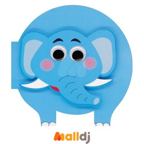 上羊文化小胖胖欢乐动物书-大象玩游戏