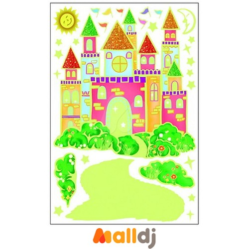 幼儿园城堡图片墙饰