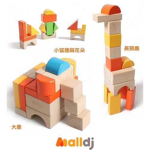 积木搭建城堡步骤图片