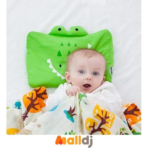 美国milo&gabby 动物好朋友-婴儿枕头套-albert鳄鱼