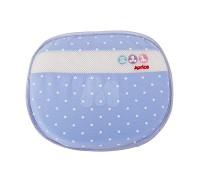愛普力卡 Aprica 可水洗透氣護頭枕~雪花藍