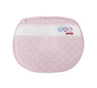 愛普力卡 Aprica 可水洗透氣護頭枕~雪花粉