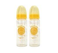 黃色小鴨 PiYO PiYO 玻璃奶瓶2入 組  140ml