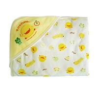 黃色小鴨 PiYO PiYO 雙面布印圖包巾