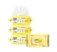 黃色小鴨 PiYO PiYO EDI超純水超厚護膚柔濕巾 3包入