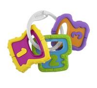 Chicco 寶貝學習數字鑰匙手搖鈴