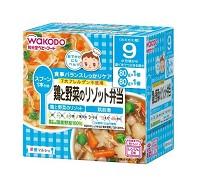 和光堂 WAKODO 雞肉蔬菜燴飯便當 160g