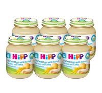 喜寶 HiPP 天然玉米馬鈴薯火雞全餐6入 組