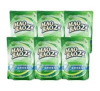 毛寶兔 MAO BAO 2 超酵素制臭抗菌防霉洗衣精補充包~1800g 特惠箱購組 6入
