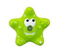 MUNCHKIN 可愛星星噴水洗澡玩具~綠