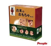 People 新茶與米的玩具4件  季節限定