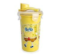 海綿寶寶 不鏽鋼攪拌吸管杯300ml