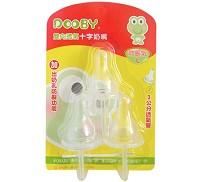 大眼蛙 DOOBY 雙向透氣十字防脹氣奶嘴 L