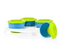 Nuby 食物冷凍儲存盒 4入