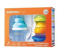 媽咪小站 mammyshop 四階段喝水訓練杯