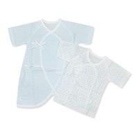 GMP BABY 日製棉點肚衣 兔裝 兩枚組