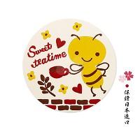Karel Capek 蜜蜂工坊 可愛插畫杯墊