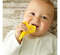 Baby Banana 嬰幼兒學習軟性香蕉牙刷 0~1歲用