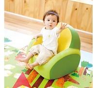 韓國康樂 Dwinguler 兒童單人沙發 綠色
