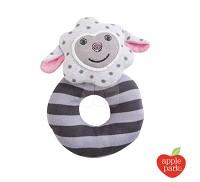 美國Apple Park 手搖鈴啃咬玩具~小羊夢夢