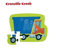 美國 Crocodile Creek 迷你 拼圖系列~傾卸車