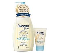 艾惟諾 Aveeno 嬰兒燕麥沐浴洗髮露 嬰兒燕麥保濕乳