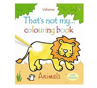 英國 Usborne 那不是我的系列著色書~動物篇
