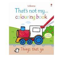英國 Usborne 那不是我的系列著色書~交通工具篇