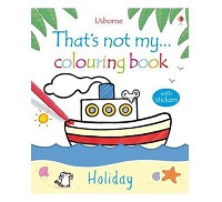 英國 Usborne 那不是我的系列著色書~歡樂假期篇