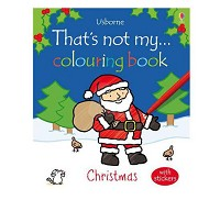英國 Usborne 那不是我的系列著色書~耶誕節篇