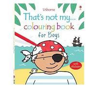英國 Usborne 那不是我的系列著色書~小男孩篇